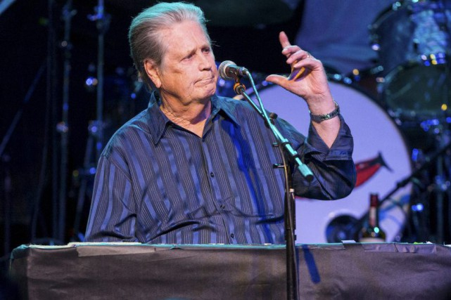 Brian Wilson en spectacle le 30 mars dernier.... (Photo: archives AP)