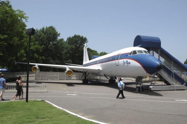 L'avion baptisé Lisa Marie devra quitter Graceland pour... (Photo: AP)