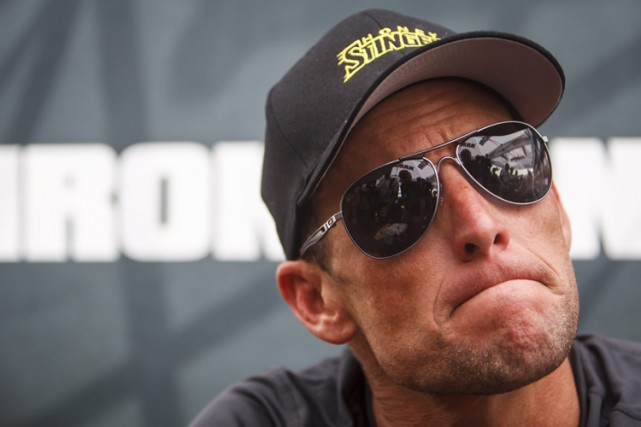 Lance Armstrong... (Archives AP)