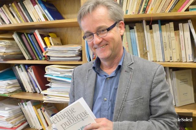 Luc Bégin considère que certains élus devraient se... (Le Soleil, Jean-Marie Villeneuve)