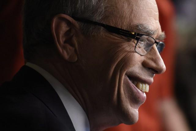 Le ministre Joe Oliver a été la cible... (Photo La Presse Canadienne)