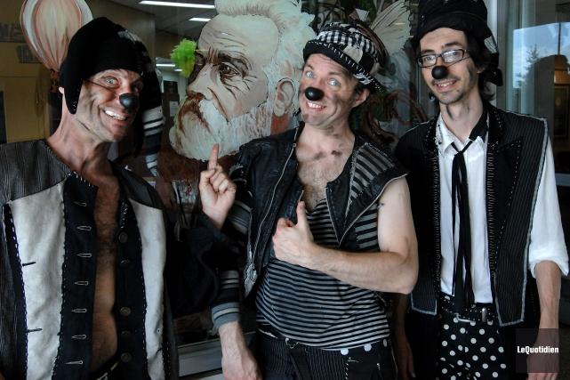 Les Clowns Noirs animeront la cérémonie des Austères... ((Archives Le Quotidien))