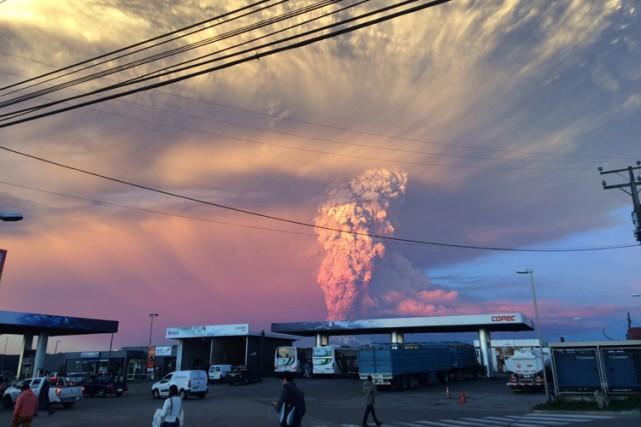 Le Chili compte environ 90 volcans actifs, parmi... (Photo: AFP)