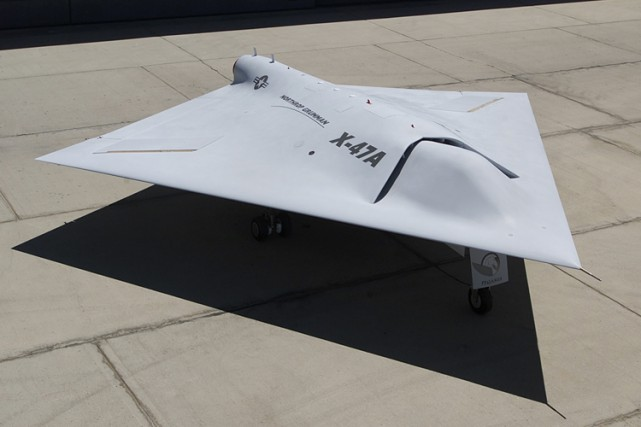 Le drone X-47 est un prototype de drone... (Photo: WikiCommons)
