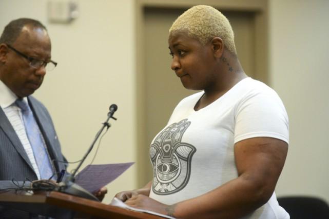 Shaneka Monique Torres a comparu en cour mardi... (Photo: AP)