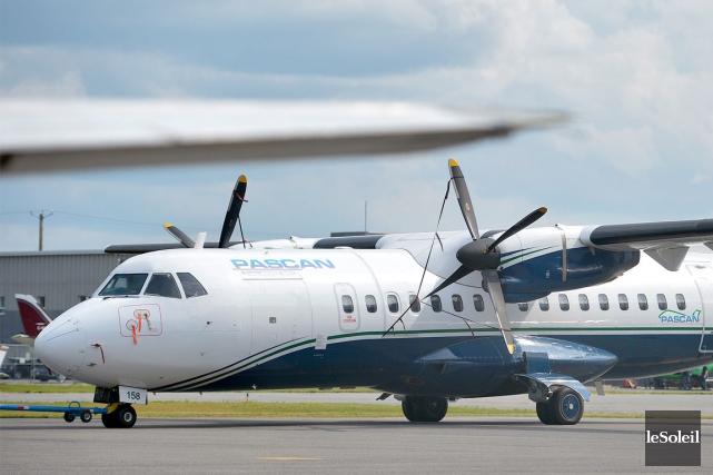 À partir de vendredi, Pascan Aviation n'offrira plus... (Photothèque Le Soleil, Jean-Marie Villeneuve)