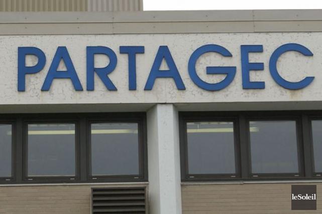 Partagec compte environ 120 employés réguliers; une quarantaine... (Photothèque Le Soleil)