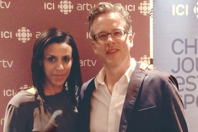 Une heure par semaine, Rebecca Makonnen et Marc... (Photo ICI Radio-Canada Télé)