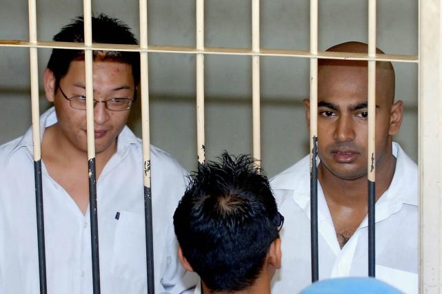 Les dix condamnés, originaires d'Australie, France, Brésil, Philippines,... (Photo AFP)