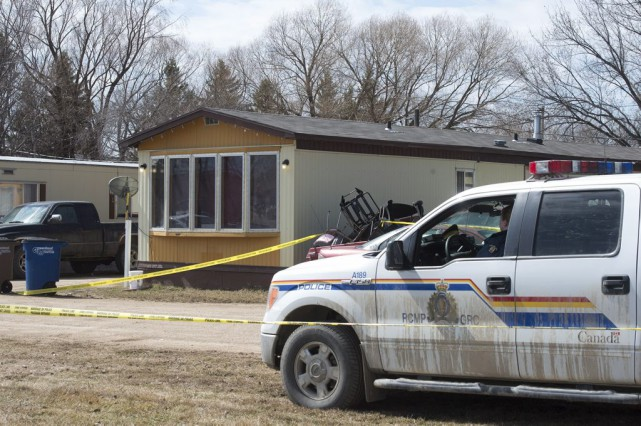 Un homme qui a assassiné sa conjointe et ses trois enfants avant de s'enlever... (Photo La Presse Canadienne)