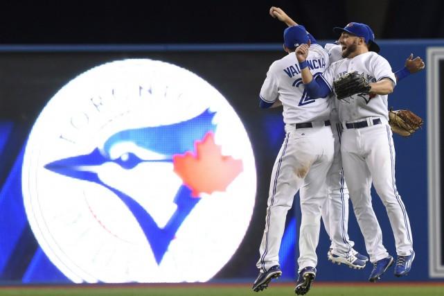 Les Blue Jays ont balayé la série de... (PHOTO FRANK GUNN, LA PRESSE CANADIENNE)