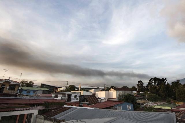 La fermeture de l'aéroport Juan Santamaria, situé à... (PHOTO EZEQUIEL BECERRA, AFP)