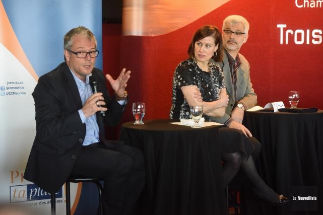 Trois bénéficiaires du Fonds qui ont voulu démystifier... (Photo: François Gervais Le Nouvelliste)