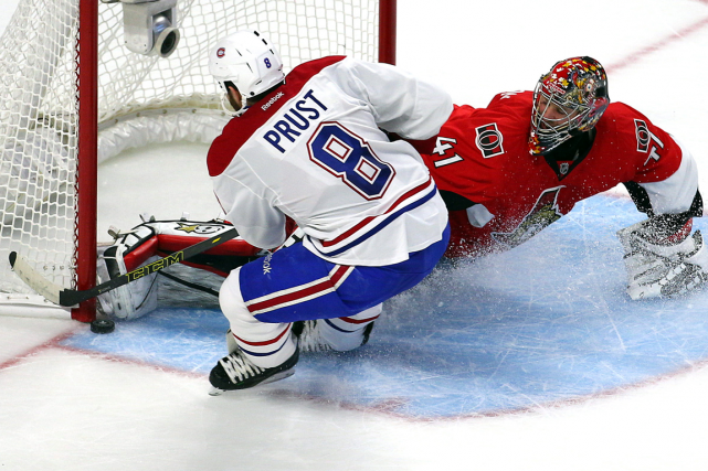 Brandon Prust a obtenu la meilleure chance de... (Photo Jean-Yves Ahern, USA Today)