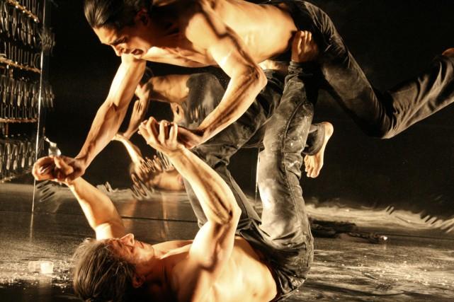 La pièce Warm sera présentée à l'Espace Go.... (Photo: fournie par Montréal complètement cirque)