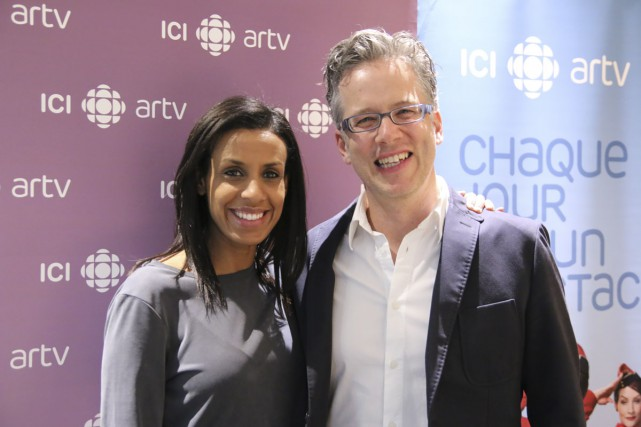 Rebecca Makonnen et Marc Cassivi animeront à ARTV... (Photo: fournie par Radio-Canada)