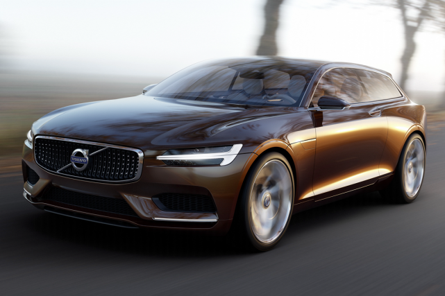 Volvo s'inspirera de l'Estate Concept (photo) pour concevoir... (Photo fournie par Volvo)