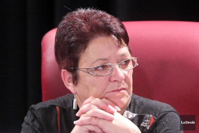 La conseillère Louise Boudrias croit que l'avenue proposée... (Étienne Ranger, Archives LeDroit)
