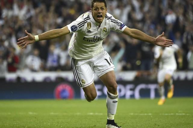 Un but tardif de Javier «Chicharito» Hernandez a procuré une courte victoire de... (Agence France-Presse)