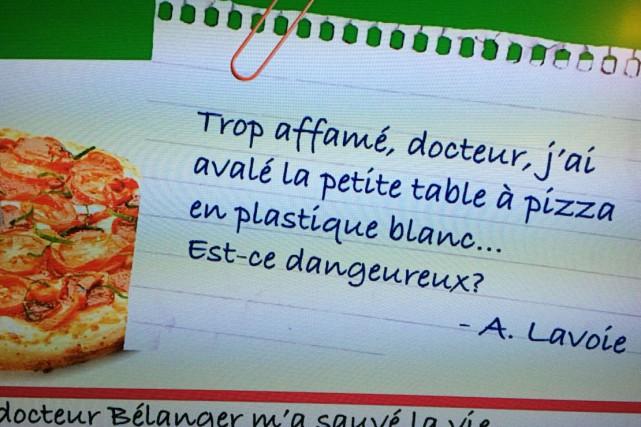 Jean-René Dufort, alias Infoman, aime bien se payer la tête d'un peu tout le...