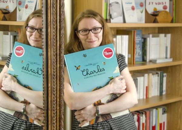 Katherine Fafard, directrice générale de l'Association des libraires... (PHOTO ZPHOTO)