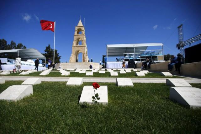 Dans la presqu'île de Gallipoli battue par les... (Photo Osman Orsal, Reuters)