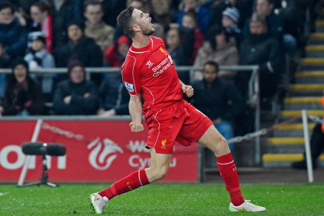 Jordan Henderson... (Photo Rebecca Naden, Reuters)