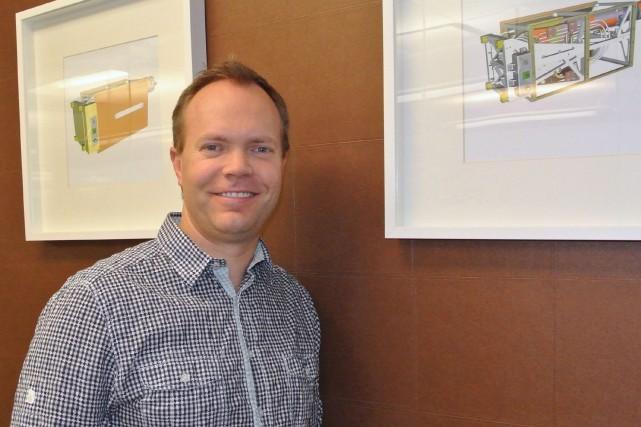 Scott Larson, le PDG de UrtheCast Corp., a... (PHOTO ARCHIVES LA PRESSE CANADIENNE)