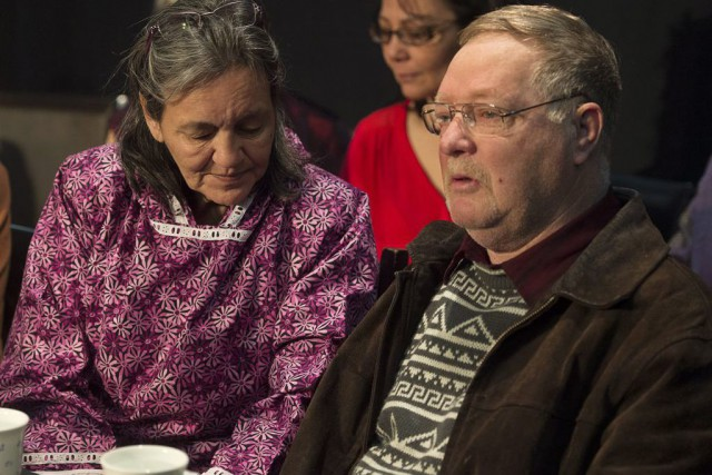 Myriam et Clayton Saunders, les parents de Loretta Saunders,... (PHOTO ANDREW VAUGHAN, LA PRESSE CANADIENNE)
