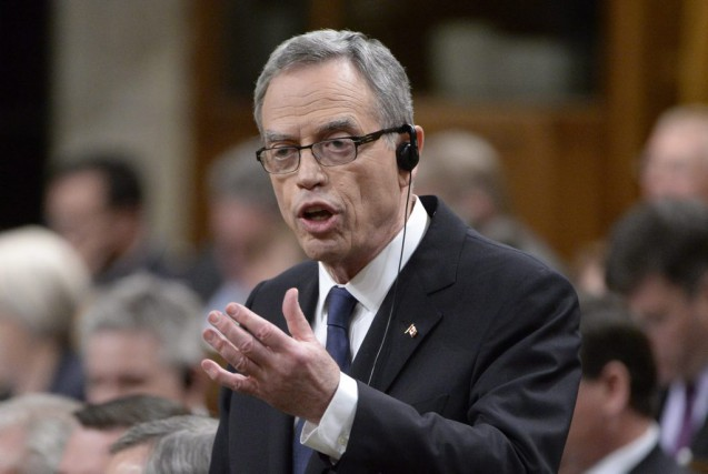 Le ministre des Finances Joe Oliver... (PHOTO ADRIAN WYLD, LA PRESSE CANADIENNE)