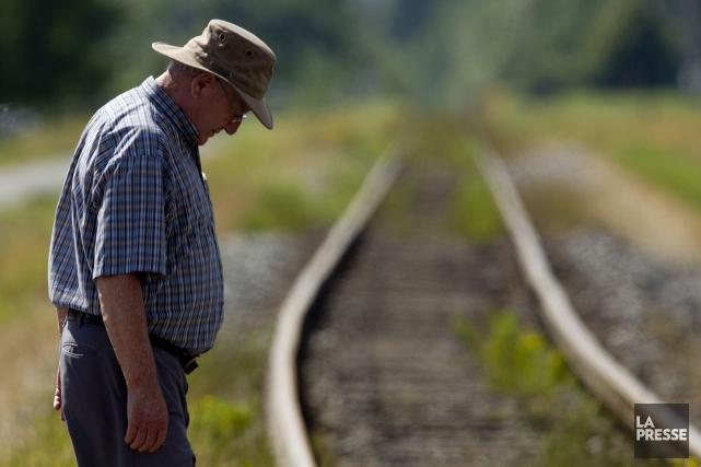 Le mauvais état de la voie ferrée à Lac-Mégantic prouve que le gouvernement de... (Archives La Presse)