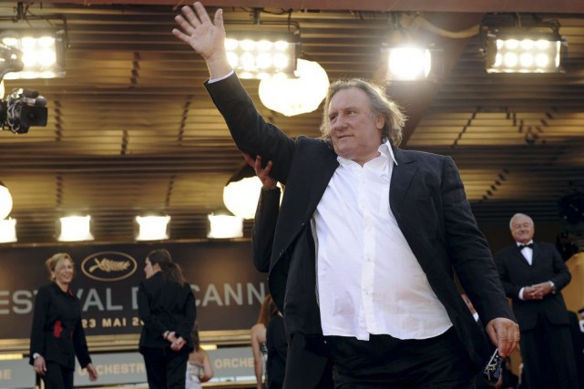 Gérard Depardieu lors de sa participation au Festival... (PHOTO ARCHIVES AP)