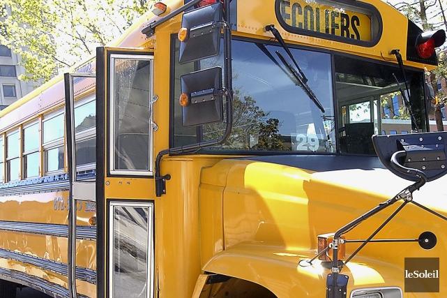 Les partisans du système d'autobus scolaires séparésplaident que... (Photo Jean-Marie Villeneuve, Archives Le Soleil)