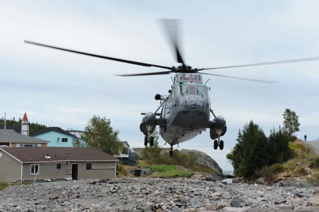 Le gouvernement canadien dépense présentement 1,02% de son... (Photo fournie par l'armée canadienne)