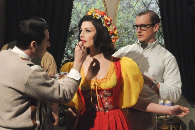 Jessica Paré dans une scène de Mad Men.... (Photo: fournie par AMC)