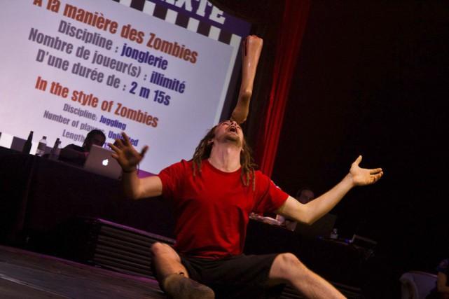 Nicolas Fortin et Philippe Trépanier organisent depuis cinq ans des matchs... (Photo: fournie par la TOHU)