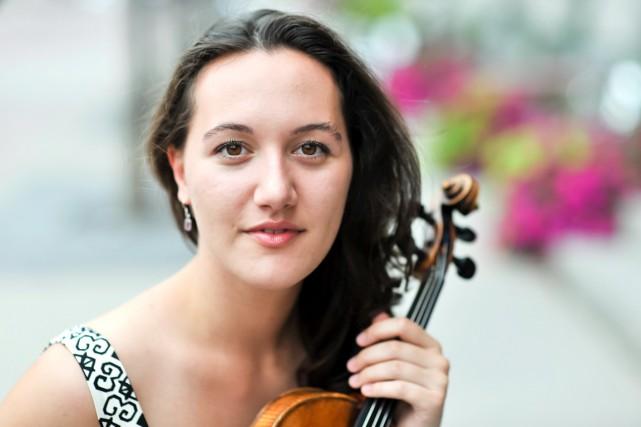 Le récital de la violoniste canadienne Yolanda Bruno...