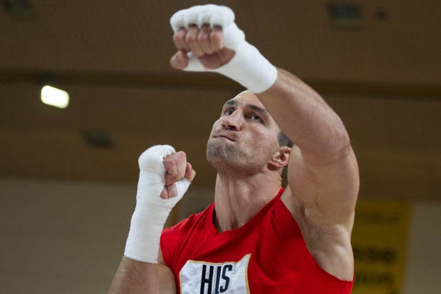 Vladimir Klitschko... (PHOTO UWE ANSPACH, ARCHIVES AFP)