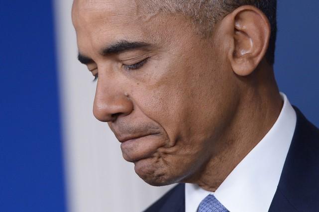 Le président Barack Obama a présenté hier «ses... (PHOTO MANDEL NGAN, ARCHIVES AFP)