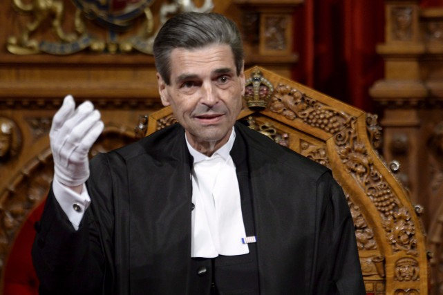 Le président du Sénat du Canada, Pierre Claude... (PHOTO ADRIAN WYLD, ARCHIVES LA PRESSE CANADIENNE)