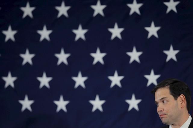 Le sénateur de Floride Marco Rubio.... (PHOTO BRIAN SNYDER, ARCHIVES REUTERS)