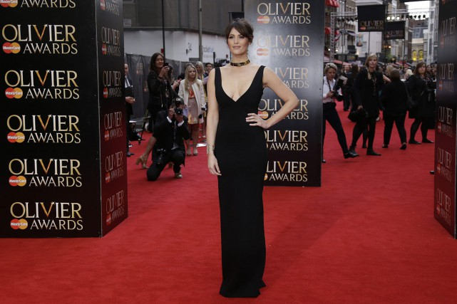Gemma Arterton aux Olivier Awards à Londres le... (Photo: archives AP)