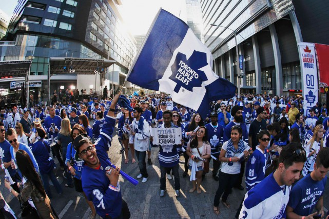 Les Leafs, qui ont conlu la saison au... (PHOTO MARK BLINCH, ARCHIVES REUTERS)