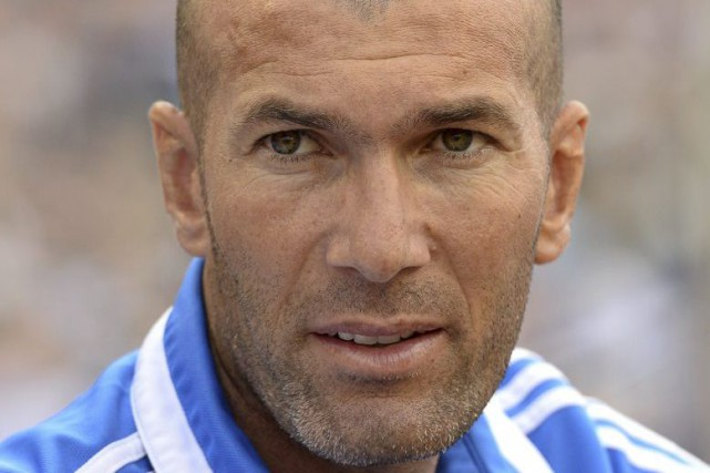 Zinedine Zidane... (Jonathan Nackstrand, Archives Agence France-Presse)