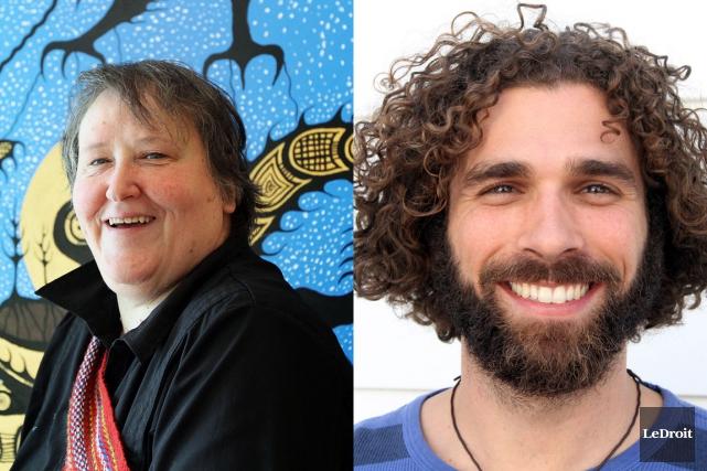Pierrette Vezina et Jean-Mathieu Chénier sont tous deux... (Photos Etienne Ranger, LeDroit)