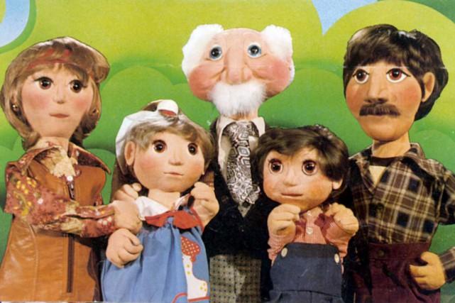 Perline, Canelle, Grand-Papa Bi, Pruneau et Perlin de... (Photo: fournie par Télé-Québec)