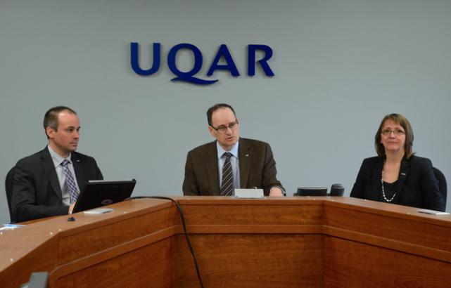 Le recteur de l'UQAR, Jean-Pierre Ouellet, a annoncé... (PHOTO COLLABORATION SPÉCIALE JOHANNE FOURNIER)