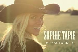 Sophie Tapie a élu domicile au Québec le temps d'enregistrer son premier...