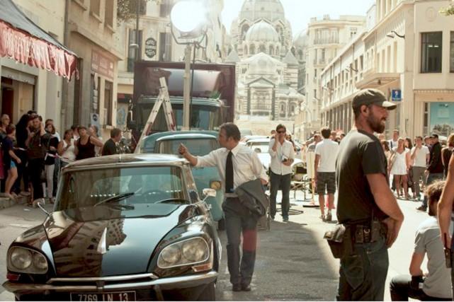 La reconstitution soigneuse du Marseille de l'époque et... (Photo fournie par les films Séville)