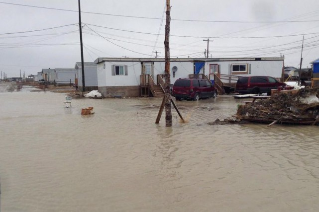 La Première NationKashechewan a été évacuée pour une... (PHOTO ARCHIVES LA PRESSE CANADIENNE)